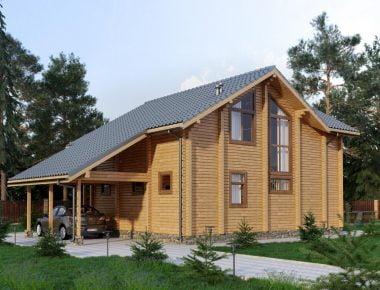 деревянные дома из бруса под ключ