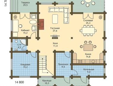 деревянный дешевый дом красивый