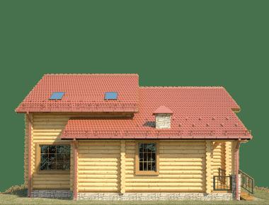 дом из бревна недорого
