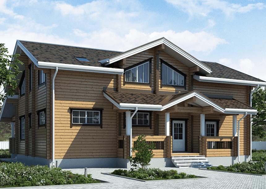 купить деревянные дома ключ